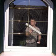 Namočenie okna rozmývačom