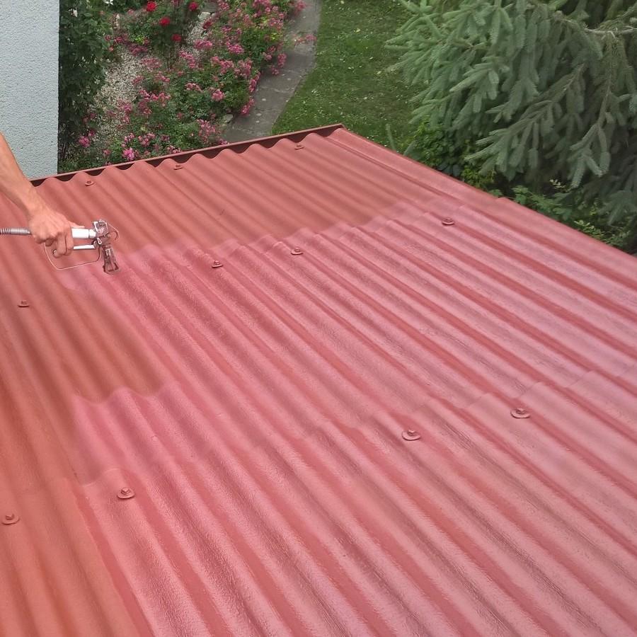 Farba na eternit - ETERNAL na strechy